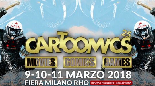Al Cartoomics retrogaming e Youtuber il 9 marzo