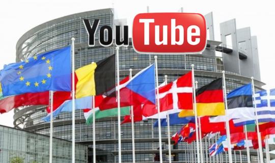 L'UE chiarisce la questione #SaveYourInternet:  YouTube è salvo