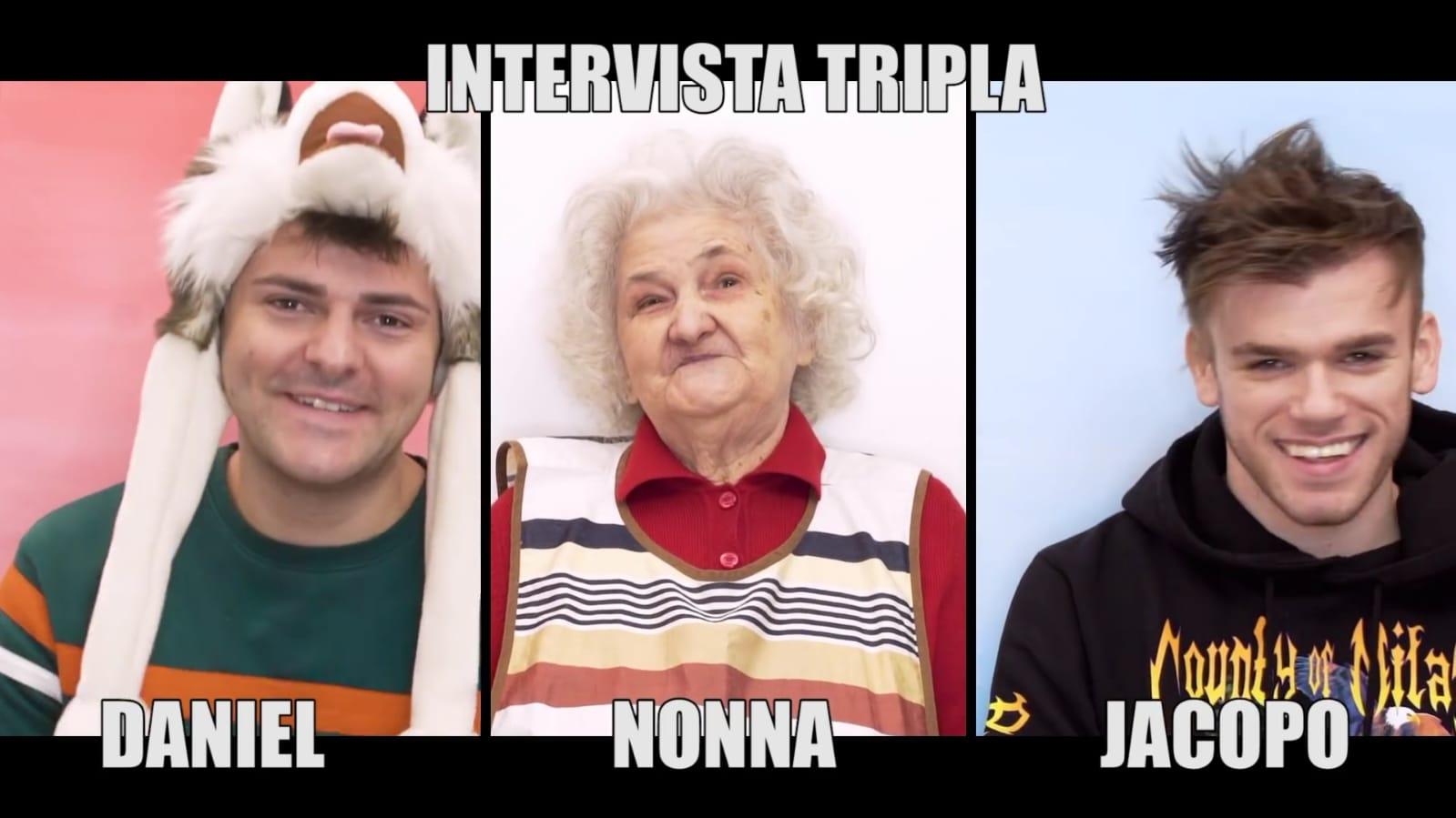 intervista tripla con la nonna speciale 4 milioni di iscritti