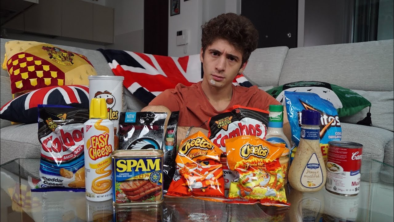 Unboxing Favij cibo americano
