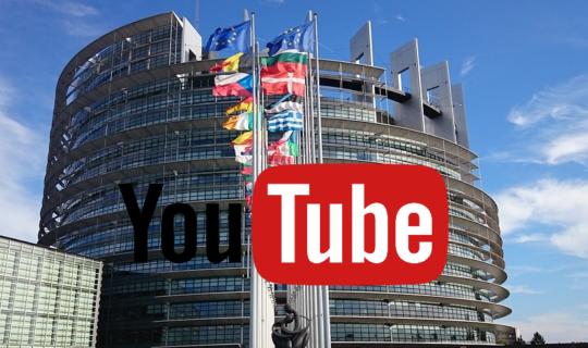 parlamento europeo copyright