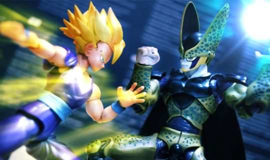 dragon ball stop motion