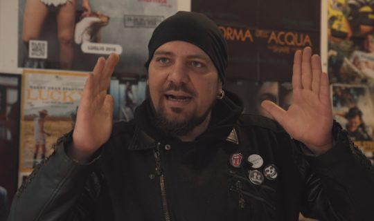Federico Frusciante intervista Joe Dante