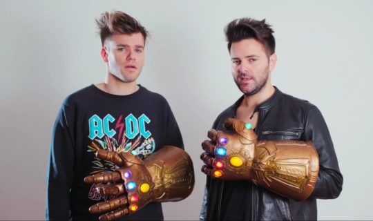 Avengers Endgame parodia