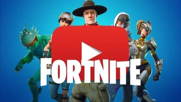 YouTube Fortnite