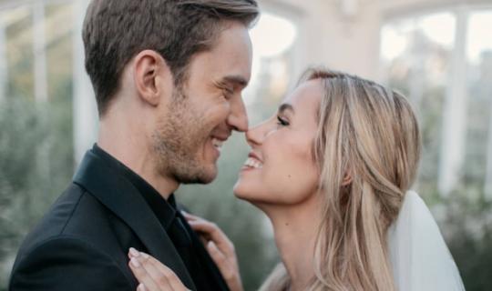 PewDiePie e Marzia si sono sposati