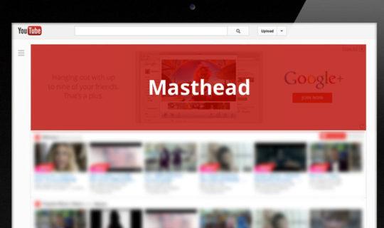 YouTube Masthead Smart TV